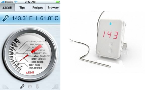 iGrill iPad Steakthermometer