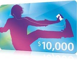 10.000$ iTunes Karte