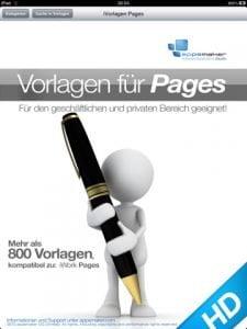 Vorlagen für Pages