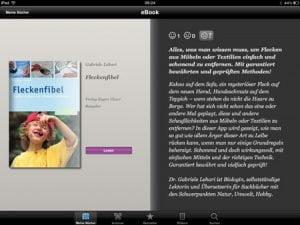 iPad Fleckenfibel