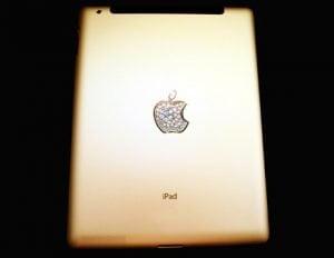 Gold-iPad 2 Rückseite