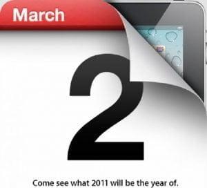 iPad 2 kommt