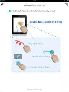 iPad App: pdf-notes