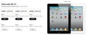 iPad 2 USA Verkaufsstart