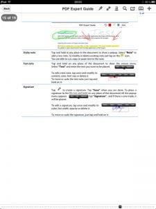 iPad PDF-Tool: PDF Expert