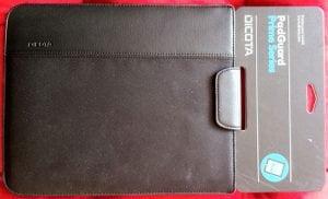 Dicota PadGuard Schutzhülle für Apple iPad und iPad 2 in schwarz
