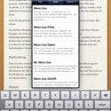 Articles für das iPad - Die Wikipedia App