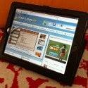 iPad 2 Tuff-Luv Tri-Axis Nappaleder Tasche