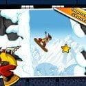 iStunt 2 HD, mit dem Snowboard die Abhänge herunter jagen