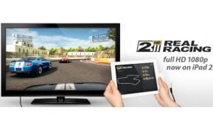 Real Racing 2 HD nun mit nativer 1080p Ausgabe (HD-TV) fürs iPad 2