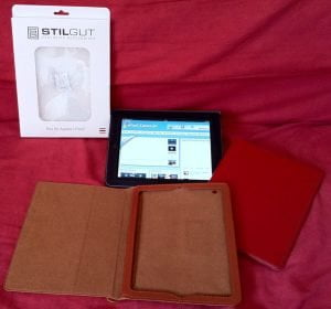 Executive Case aus feinstem Leder für Apple iPad 2