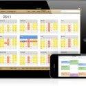 Die überarbeitete Kalender App