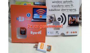Eye-Fi: Fotos und Videos von der Kamera drahtlos aufs iPad (Gewinnspiel)