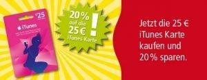 25€ iTunes Karten bei Rewe im Angebot