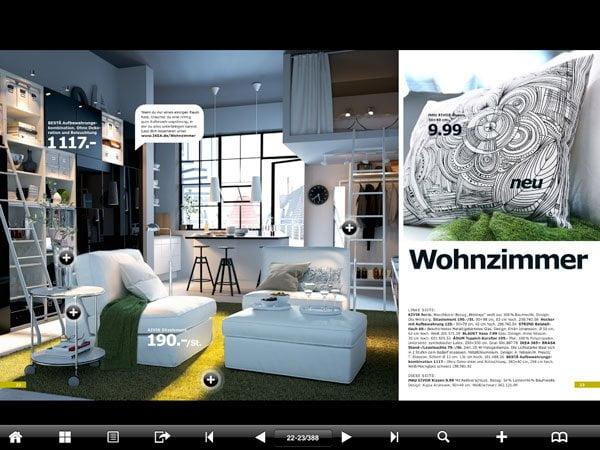 den kompletten ikea katalog 2012 jetzt auch auf dem ipad. Black Bedroom Furniture Sets. Home Design Ideas
