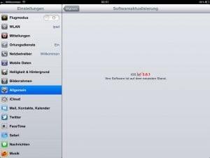 iPad iOS 5.0.1