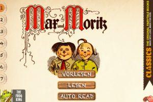 Max und Moritz Bubengeschichten in sieben Streichen jetzt auf dem iPad genießen