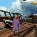 Hier steuert ihr einen Piraten
