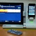 UX-VJ5WE: CD-Micro-System mit Direct-Dock-Anschlüssen für iPad+iPhone/iPod von JVC