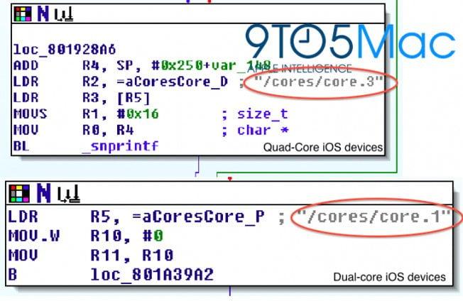 Hinweise auf Quad-Core CPU im iPad 3