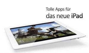 Die besten Apps und Games fürs iPad 3