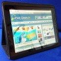Kavaj iPad 3 Tasche Berlin im Test - Detail