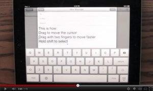iPad Tastatur Prototyp